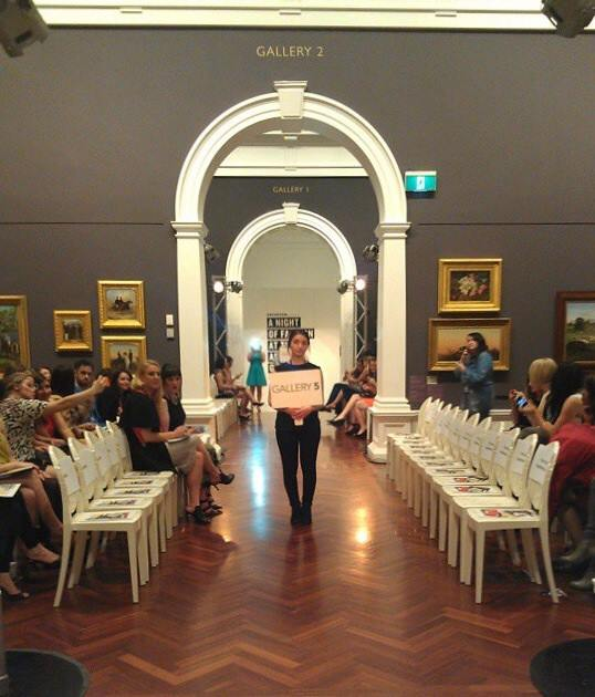 A Night of Fashion at the Art Gallery 2014